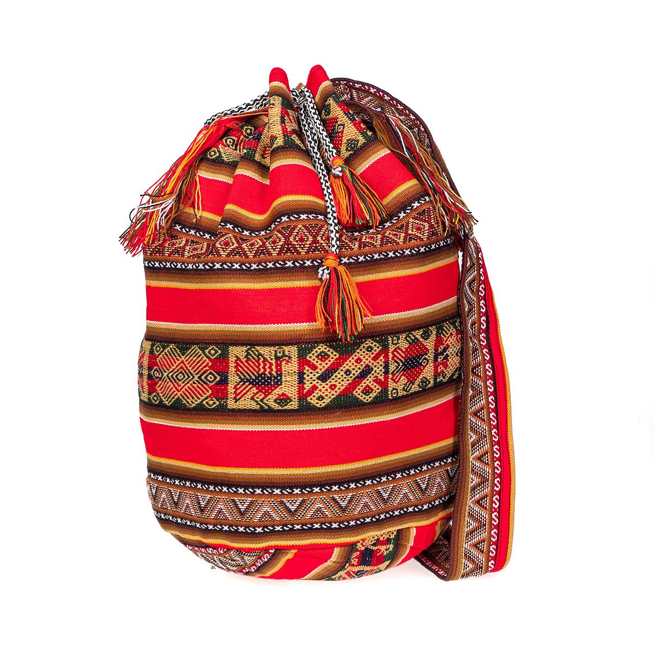 снимка на Чанта голяма червена