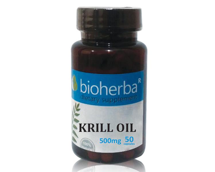 снимка на МАСЛО ОТ КРИЛ (Krill oil) mg,  софтгел капсули