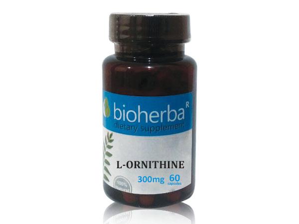 снимка на ЛОрнитин, Биохерба,  капсули, мг