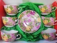 Комплект  за чай и кафе - 12 части