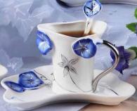 снимка на Арт бутикова чаша  за кафе и чай
