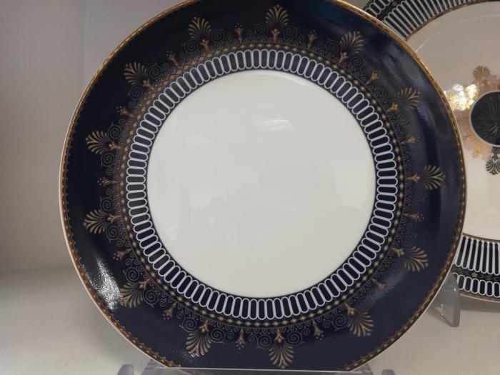 Комплект чинии с кобалт