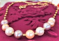 снимка на Колие с естествени перли