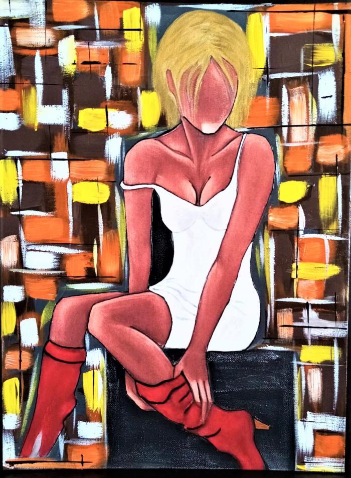Картина Жена