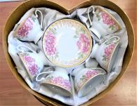 снимка на Красив комплект за чай или кафе