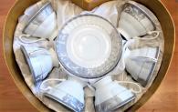 снимка на Чаши с чинийки в комплект за чай или кафе