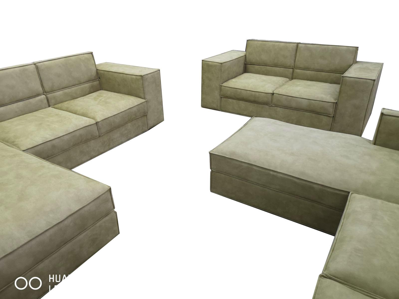 снимка на Два ъглови дивана + двойка