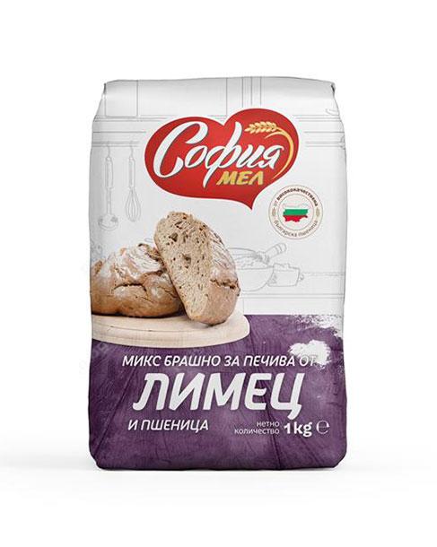 снимка на Брашно София Мел микс Лимец и Пшеница  кг