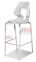 снимка на алуминиеви бар столове  за дома и заведението