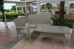снимка на Луксозна мебелировка от ратан за тераса