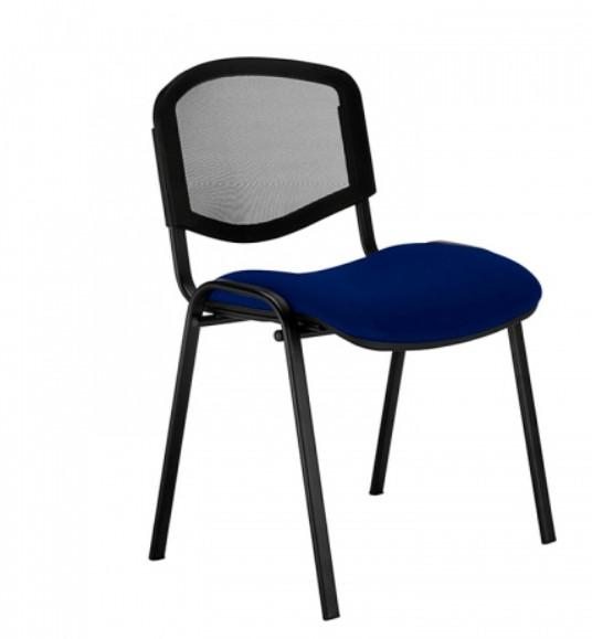 снимка на Посетителски стол ISO ERGO MESH BLACK