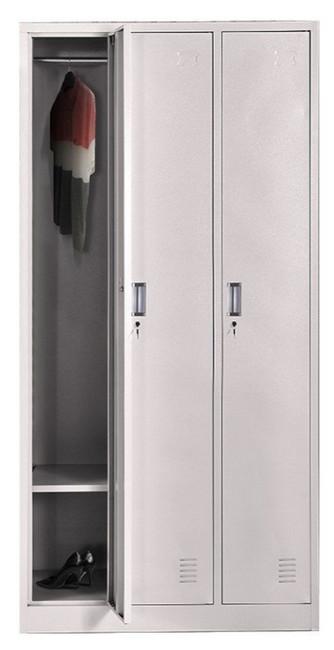 снимка на CF Метален троен гардероб ТК