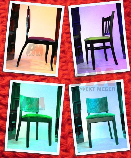 здрави дървени столове за градини