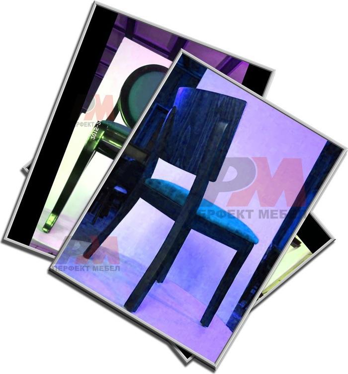 Външни здрави дървени столове