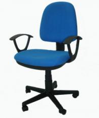 Офис стол в синьо