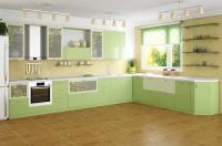 Кухня - две части