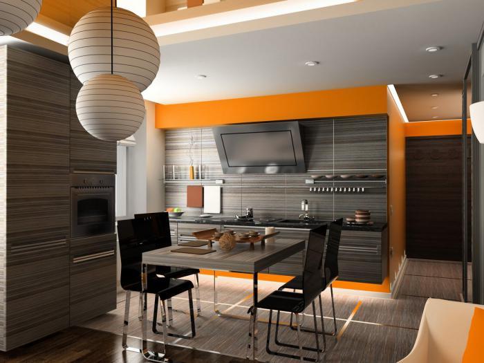 Кухня тъмно зебрано