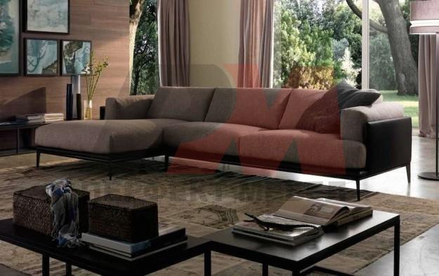 дизайнерска ъглова мека мебел модерна