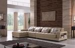 актуална дизайнерска ъглова мека мебел