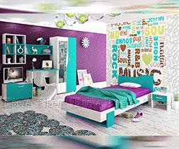 снимка на Мебели за детска стая Куин
