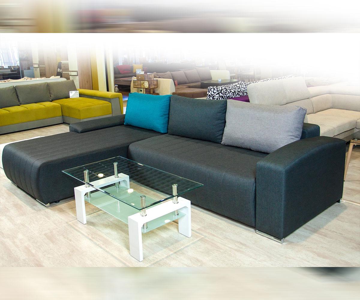 Разтегателен ъглов диван Виктор