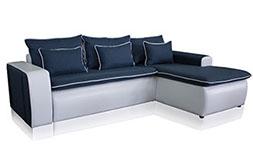 Ъглов диван с функция сън Леона