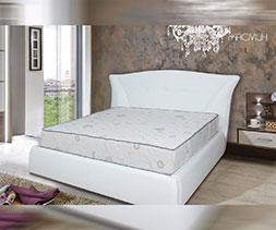 снимка на Тапицирано легло еко кожа Жасмин