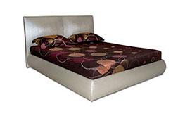 снимка на Тапицирано легло еко кожа Виктория