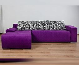Малък ъглов диван Виктор Мини