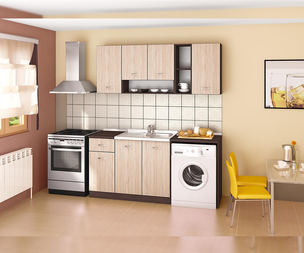 снимка на Модулна ъглова кухня Сити Астра