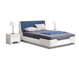 снимка на Легло със заоблени ръбове Ченс