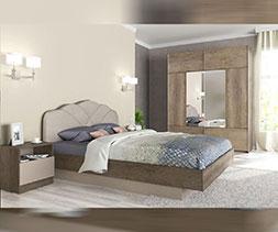 снимка на Спален комплект мебели Корона
