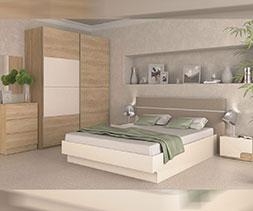 снимка на Спалня с тапицирана табла Каприз