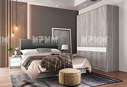 снимка на Комплект мебели за спалня Сити