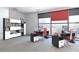 снимка на Комплект мебели за офис композиция
