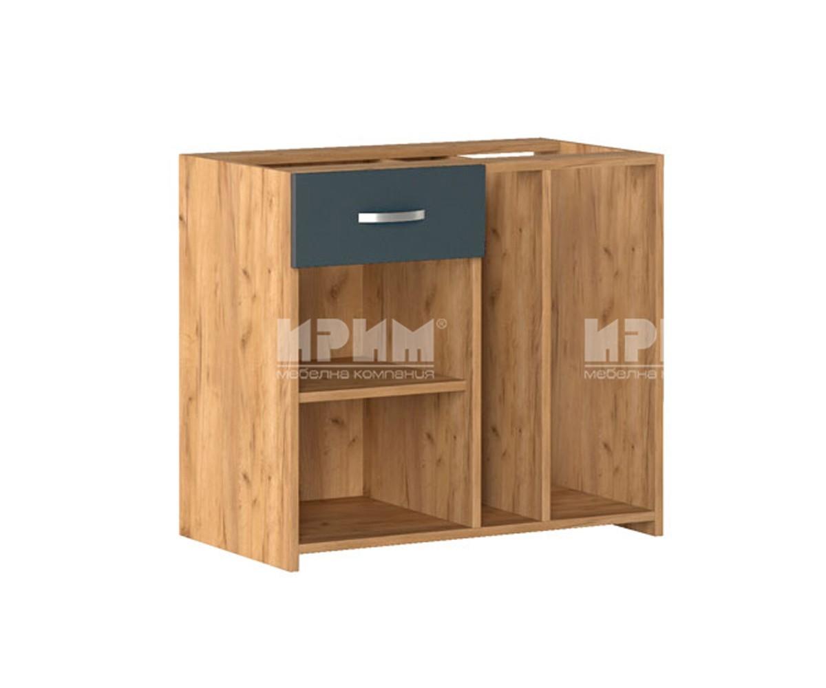 Офис шкаф с ниша за PC 291