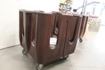 колички за отсервиране с малогабаритни размери