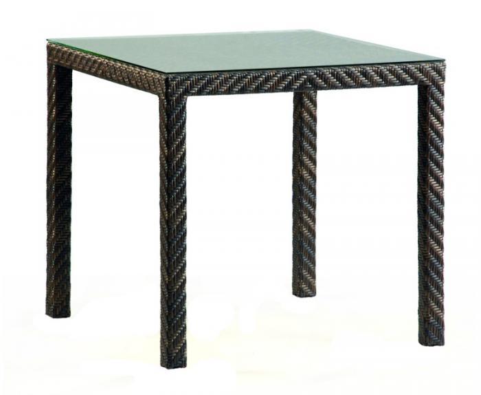 Квадратна маса от ратан 112-2609