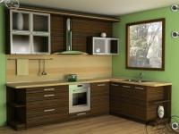 снимка на Кафява кухня