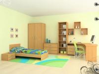 снимка на Детска стая с едно легло
