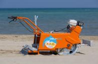 снимка на Ръчноводима машина за почистване на пясък Делфино