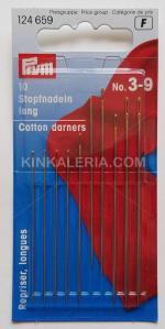 Ръчни игли за памук №3-9