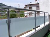 Алуминиеви парапети за тераса