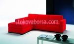 снимка на луксозен диван с лежанка