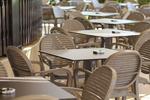 Пластмасова маса за ресторант, за външно ползване