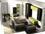 Мебелите за хол по поръчка се изработват и предлагат за гр