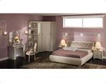 Спалня по поръчка, решена в цвят пепел от рози 2-2618
