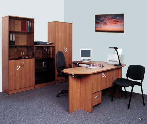 Офис кабинет цвят бук