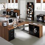 Дизайнерско офис обзавеждане от пдч за работна част