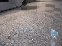 Дизайнерска настилка на камъчета
